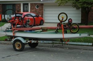 sunfish trailer for vacation
