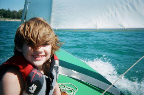8-yr old son Thad 2