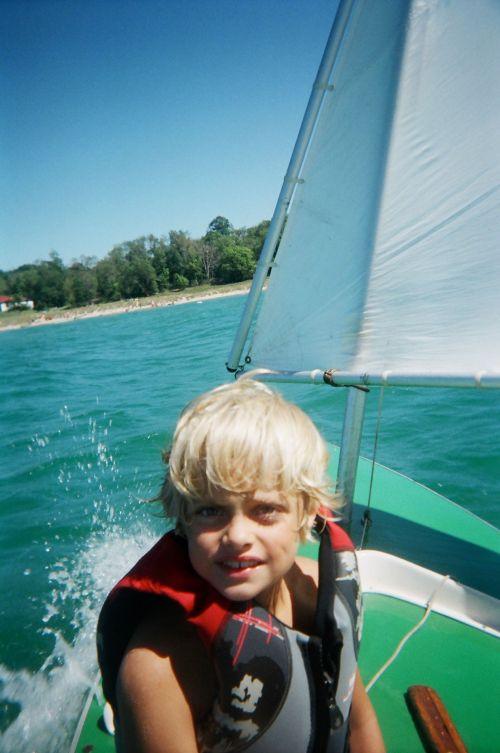 7-yr old nephew Elijah