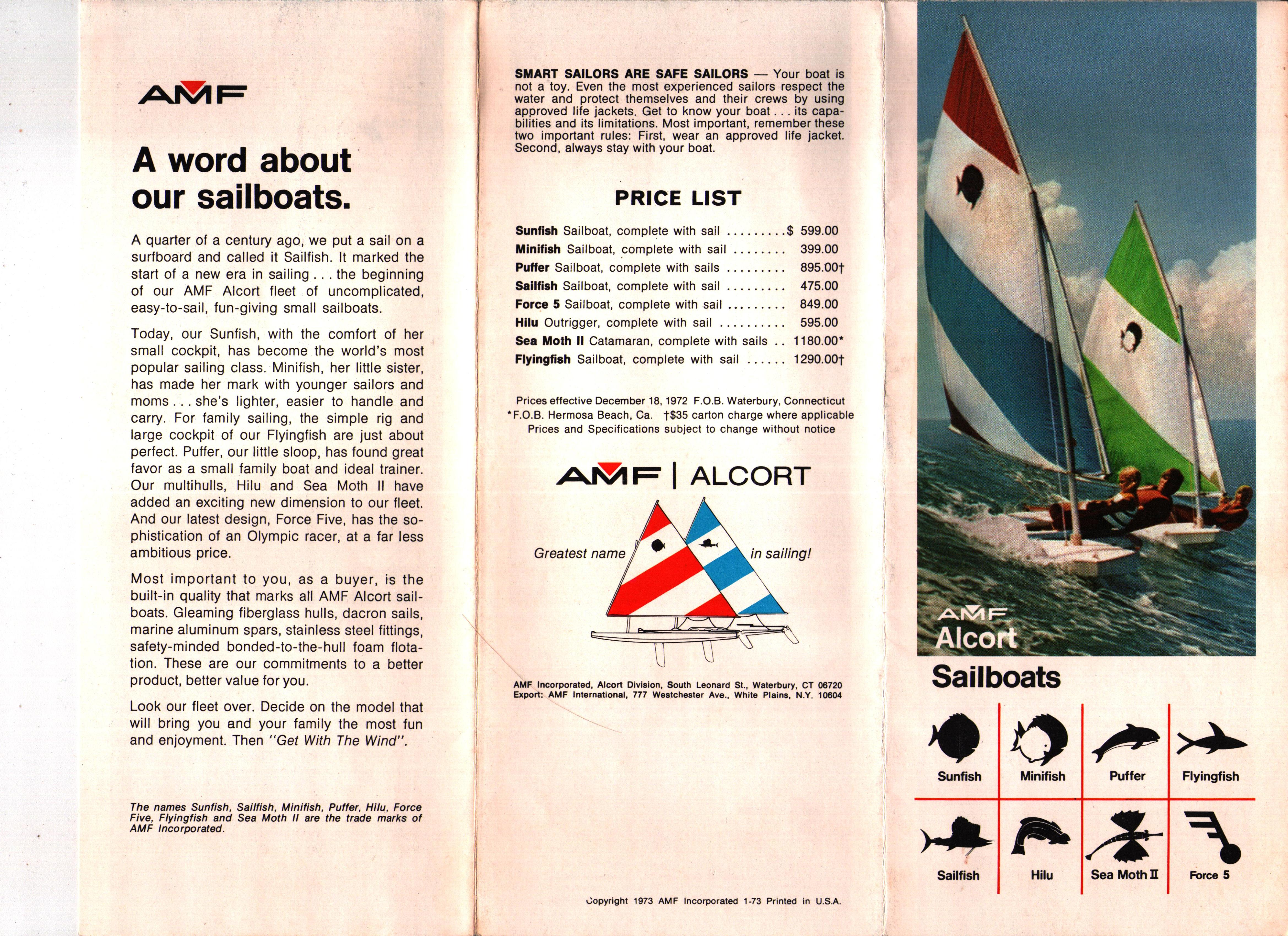 Alcort | my2fish: a blog about sunfish sailing