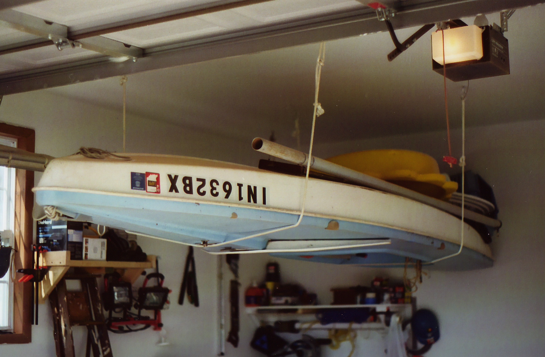 Small Sailboat Garage Storage My2fish A Blog About