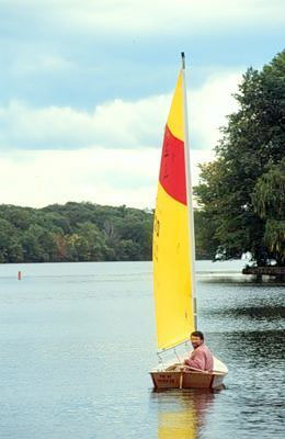 Norm Abrams builds a Clancy sailboat   my2fish: a blog about